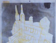 """CITY BUST"" / ART / MIXED MEDIA"
